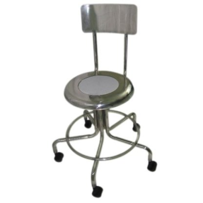 MRI Non-Magnetic Adjustable Height Doctor Stool