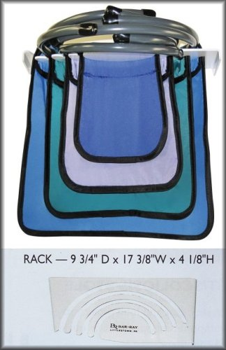 Bar-Ray Demi X-ray Aprons with Rack