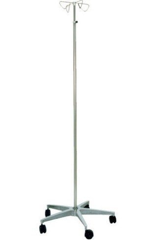 MRI Non-Magnetic Aluminum Base IV Pole