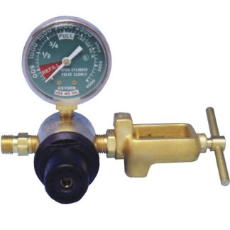 MRI Non-Magnetic Pre-Set Oxygen Regulator, Yolk