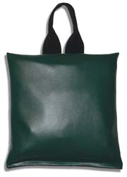 "Patient Positioning Sandbag 10 LB - 11"" x 11"" - Dark Green"