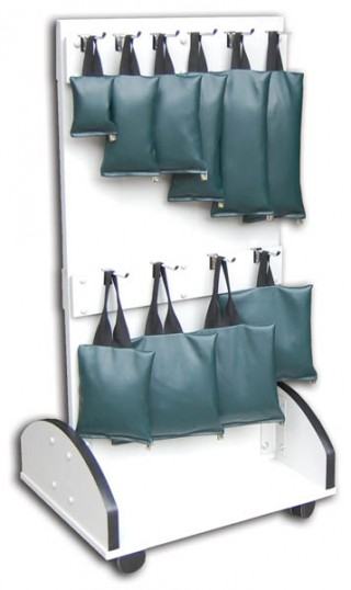 Mobile Sandbag Holder