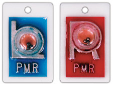 """R & L Identifier Style 7/8"""" Position X-ray Markers"""
