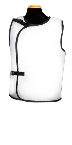 Bar-Ray Vest with Buckle X-ray Apron - Male