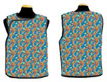 Bar-Ray Vest with Velcro X-ray Apron - Male