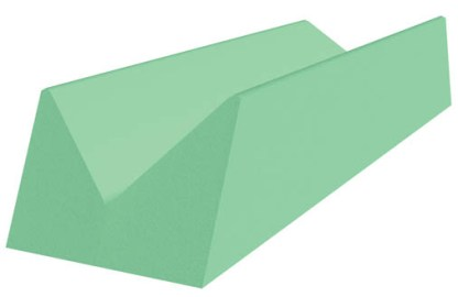 Extra Large Extremity Block - 22 x 44 x 9 - Stealth Cote
