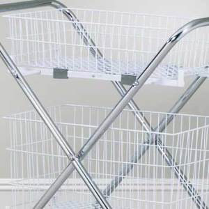 Steel Wire Basket Set for the Model TC-233 Cart