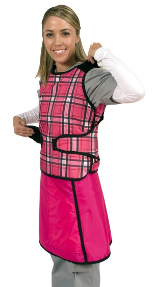 Flex Back X-ray Apron Vest Only