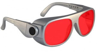 Argon Alignment 3 Laser Safety Glasses - Model #66 - Silver