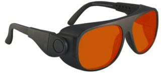 YAG Double Harmonics Laser Safety Glasses - Model #66 - Black