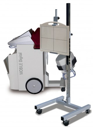 Mobile DR-Plate Holder
