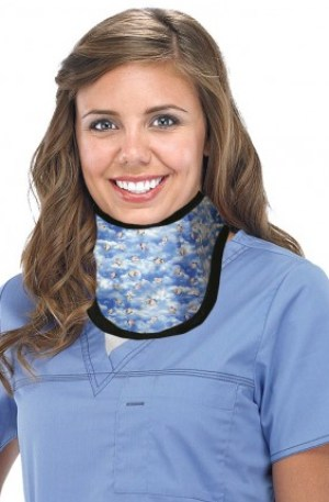 Large Radiation Protection Thyroid Collar
