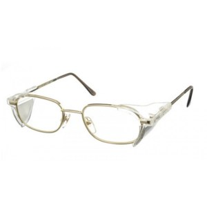Model 662S Radiation Protection Glasses with Side Shields - Gold