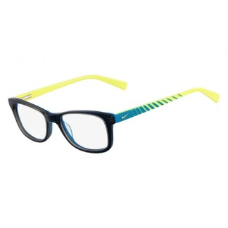 Nike 5509 Radiation Protection Glasses - Grey / Blue / Cyber Green