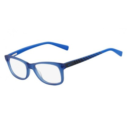 Nike 5509 Radiation Protection Glasses - Satin Blue / Gray