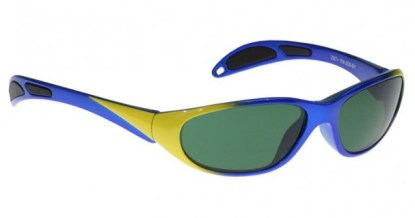 Model 208 Glassworking Safety Glasses - BoroView 3.0 - Blue Yellow