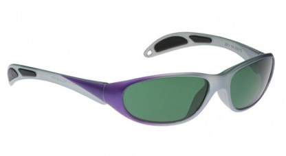 Model 208 Glassworking Safety Glasses - BoroView 3.0 - Purple Grey