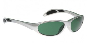 Model 208 Glassworking Safety Glasses - BoroView 3.0 - Silver