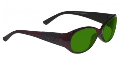 Model 230 Glassworking Safety Glasses - BoroView 3.0 - Red Black