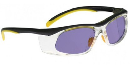 Model 206 Glassworking Safety Glasses - Phillips 202 ACE - Yellow Black