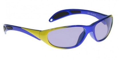 Model 208 Glassworking Safety Glasses - Phillips 202 ACE - Blue Yellow