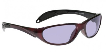 Model 208 Glassworking Safety Glasses - Phillips 202 ACE - Red