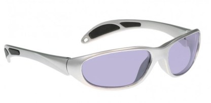Model 208 Glassworking Safety Glasses - Phillips 202 ACE - Silver