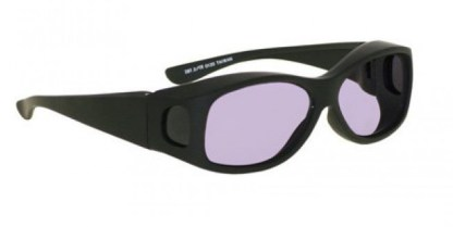 Model 33 Euro Fitover Glassworking Safety Glasses - Phillips 202 ACE - Black