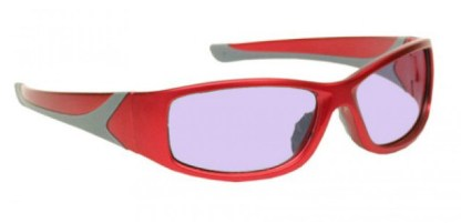 Model 808 Glassworking Safety Glasses - Phillips 202 ACE - Red