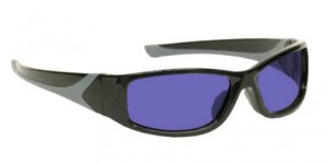 Model 808 Glassworking Safety Glasses - Polycarbonate Sodium Flare - Black