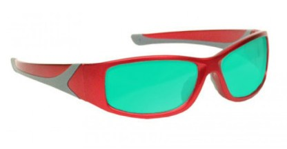 Ruby Laser Safety Glasses - Model #808 - Red
