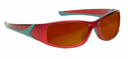 YAG Double, Harmonics Laser Safety Glasses - Model #808 - Red