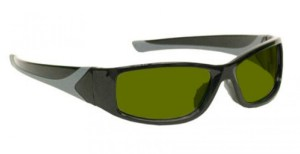 Blue/Green/Red Laser Strike Protection for Pilots and Police - Model 808 - Black