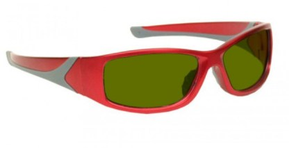 Blue/Green/Red Laser Strike Protection for Pilots and Police - Model 808 - Red