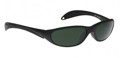Model 208 Glassworking Safety Glasses - BoroView 5.0 Black