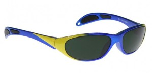 Model 208 Glassworking Safety Glasses - BoroView 5.0 - Blue Yellow