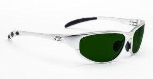 Model 533 Glassworking Safety Glasses - BoroView 5.0 - Silver