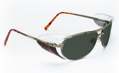 Industrial Metal Glassworking Safety Glasses - BoroView 5.0 - Gold