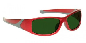 Model 808 Glassworking Safety Glasses - BoroView 5.0 - Red
