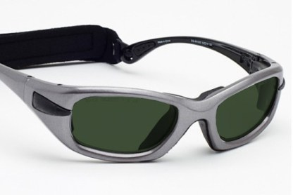 Model EGM Glassworking Safety Glasses - BoroView 5.0 - Gray