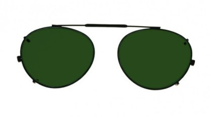 Round Clip-On Glassworking Safety Glasses - BoroView 5.0