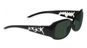 Model W200 Glassworking Safety Glasses - BoroView 5.0 - Black and White