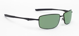 Model 116 Glassworking Safety Glasses - Light Green Filter - Black