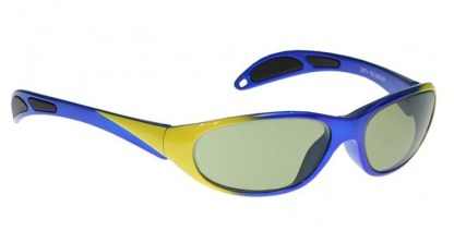 Model 208 Glassworking Safety Glasses - Light Green Filter - Blue Yellow