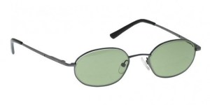 Model 700 Black Glassworking Safety Glasses - Light Green Filter