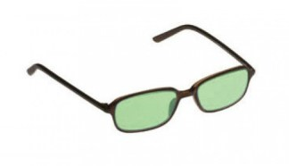 Uptown Glassworking Safety Glasses - Light Green Filter - Charcoal