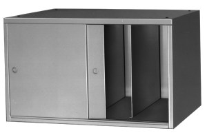 One Shelf Vertifile with Doors