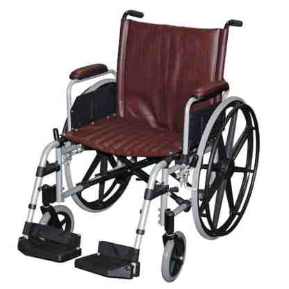 "22"" Wide MRI Non-Ferromagnetic Wheelchair"