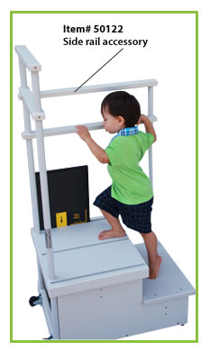 2-Step Platform for CR & DR Systems - Side Rail Accessory
