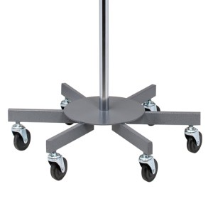 Six-Leg 4-Hook Infusion Pump Stand